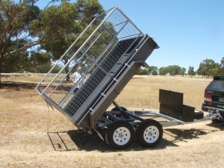 Loadmaster Tipper 8X5 with Full cage